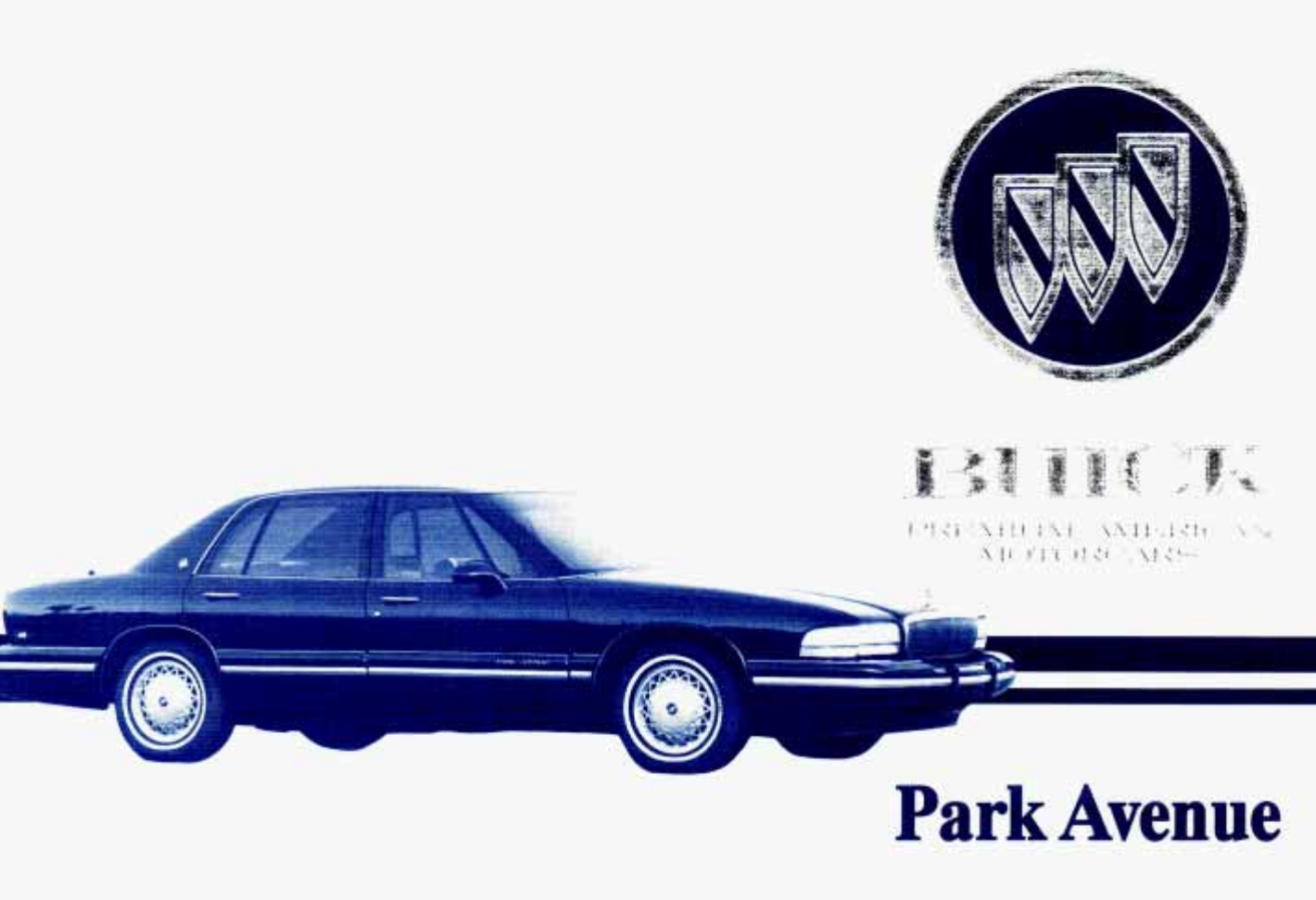 1995 buick park avenue owners manual pdf rh manuals co 87 Buick Park Avenue  84 Buick Trunk Short