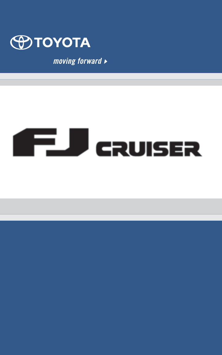 2008 toyota fj cruiser owners manual pdf freerunsca Choice Image
