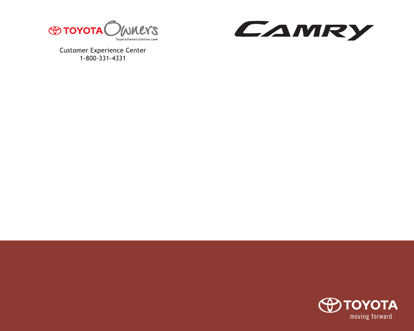 2009 Toyota Camry Owners Manual Pdf