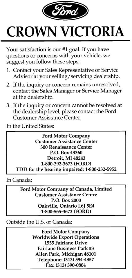 1997 ford crown victoria owners manual pdf rh manuals co Ford Crown Victoria Taxi 2000 ford crown victoria owners manual pdf