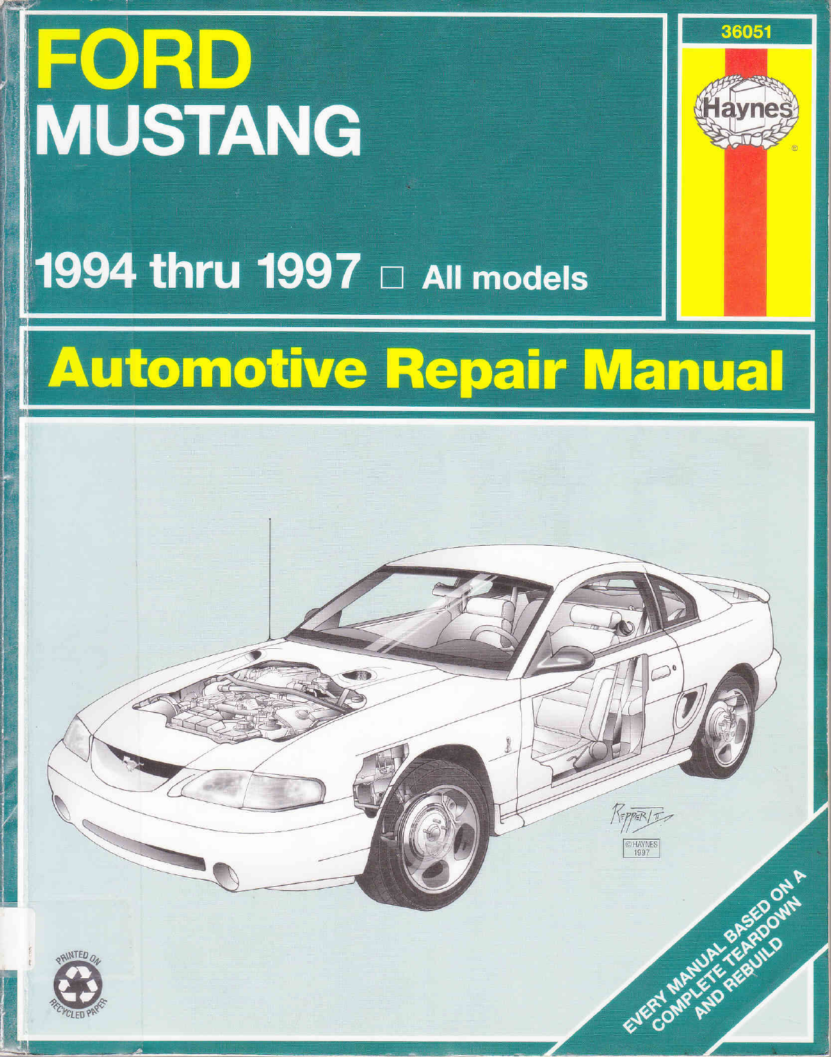 See our other Ford Mustang Manuals: