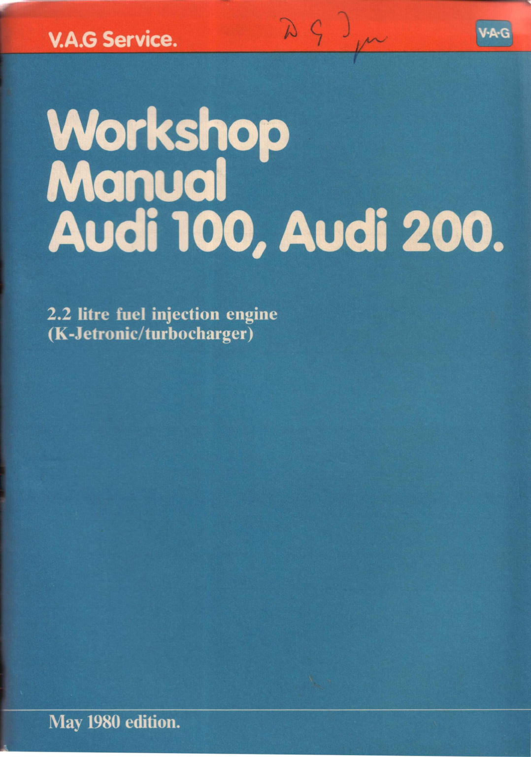 See our other Audi 200 Manuals: