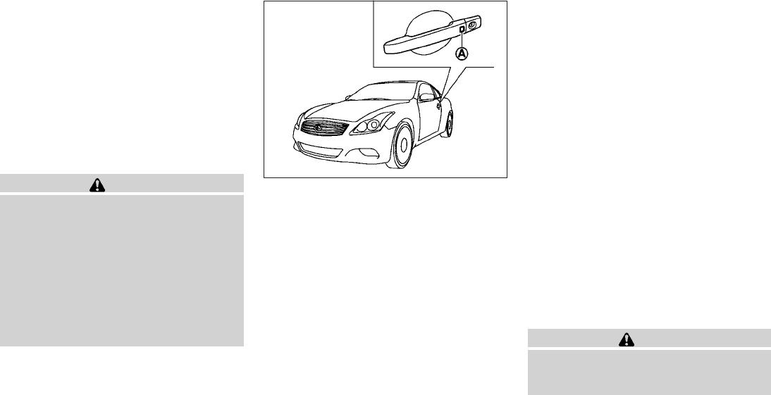 2010 Infiniti G37 Convertible Owners Manual PDF | Page 145