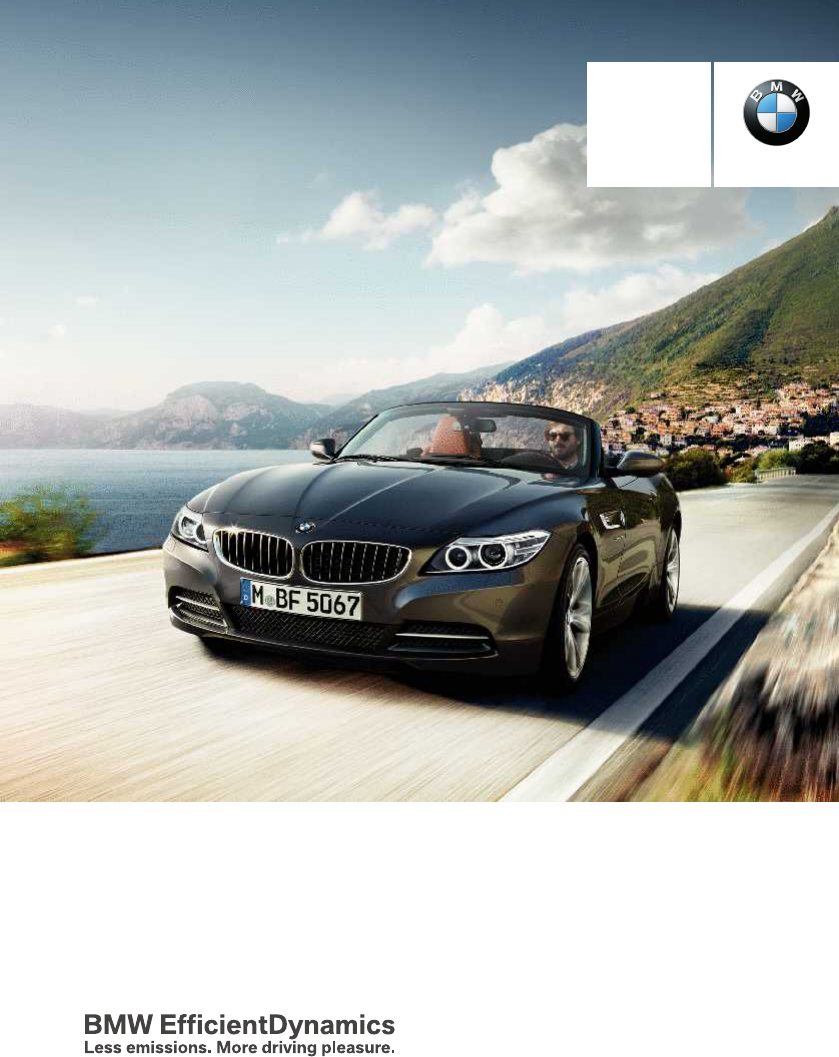 2014 Bmw Z4 Sdrive35is Owners Manual Pdf