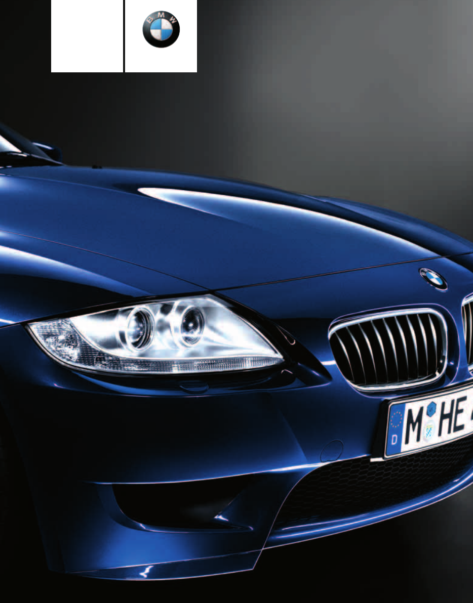 2006 Bmw Z4 M Roadster Owners Manual Pdf