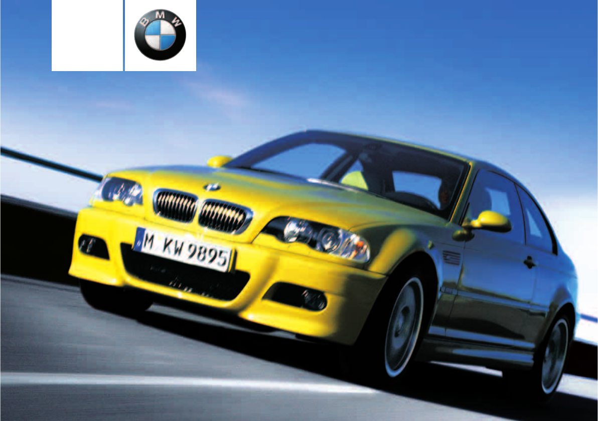 2004 bmw m3 owners manual coupe pdf rh manuals co bmw m3 owners manual 2011 bmw m3 owners manual 2017