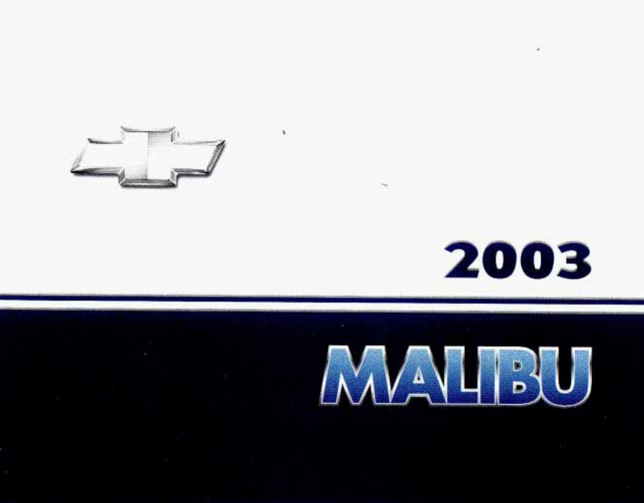 See our other Chevrolet Malibu Manuals: