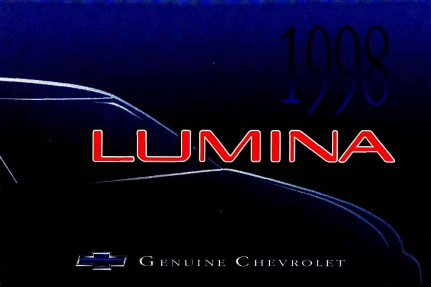 See our other Chevrolet Lumina Manuals: