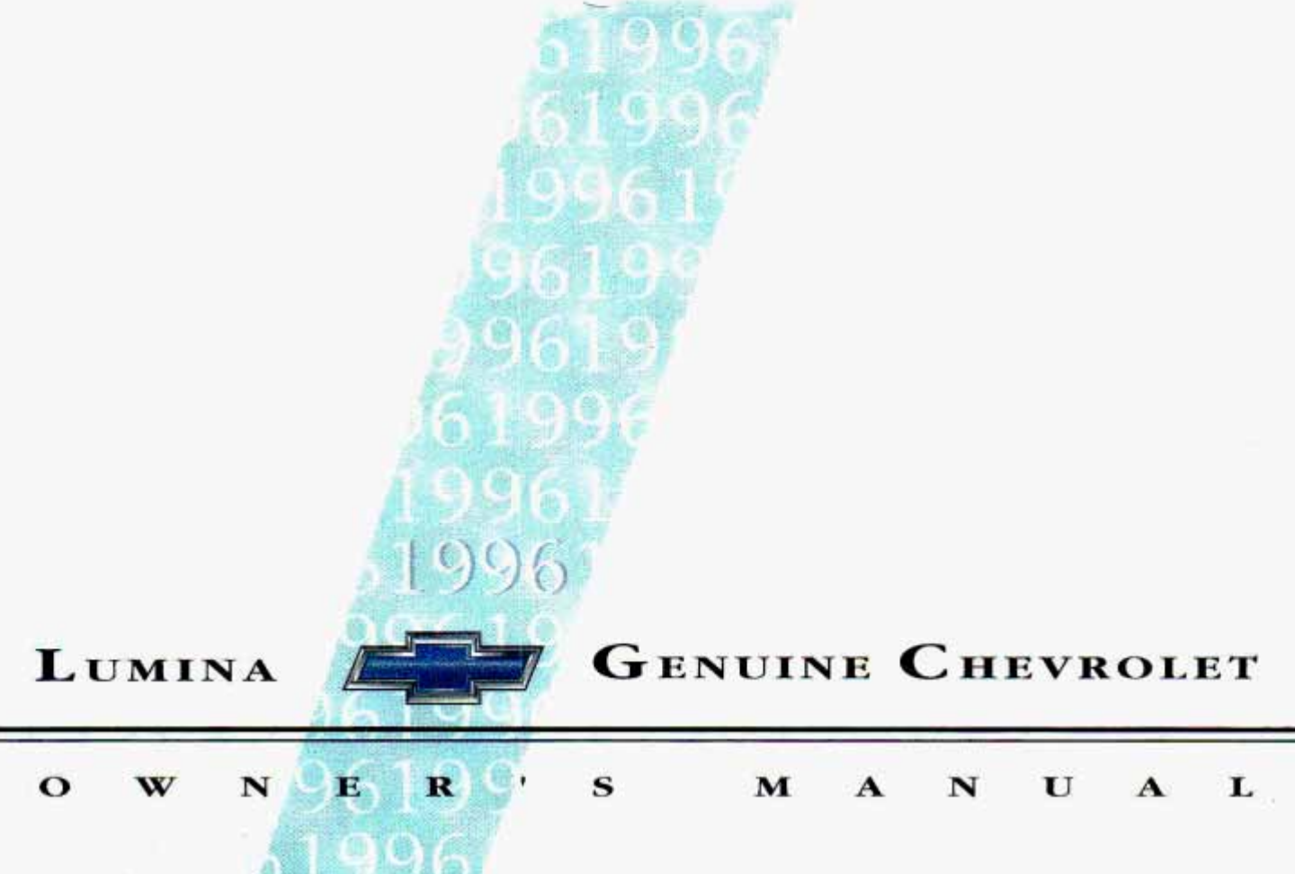1996 chevrolet lumina owners manual pdf rh manuals co 1997 Chevy Lumina 1997 Chevy Lumina