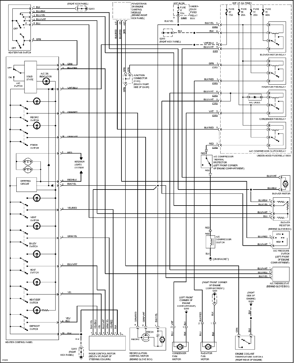 honda civic 1997 misc documents wiring diagrams pdf 97 Honda Civic Radio Wiring Diagram