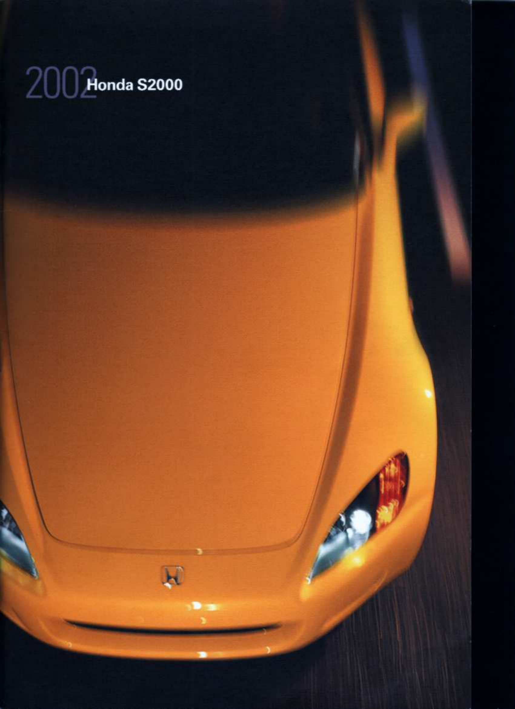 See our other Honda S2000 Manuals: