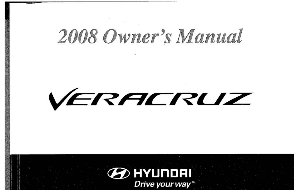 hyundai veracruz 2008 owners manual pdf rh manuals co hyundai veracruz repair manual hyundai veracruz user manual