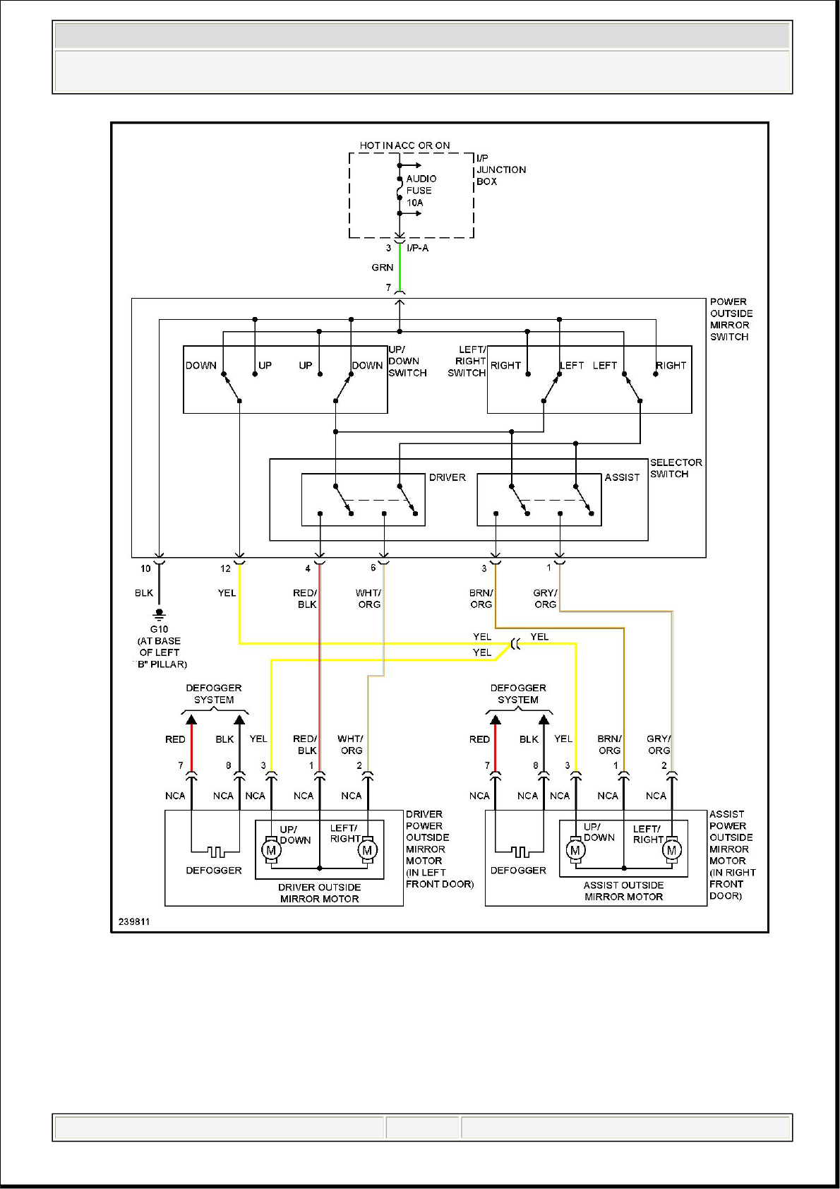 1998 Hyundai Accent Wiring Diagram Library Excel 93 Fuse Box Misc Document Pdf
