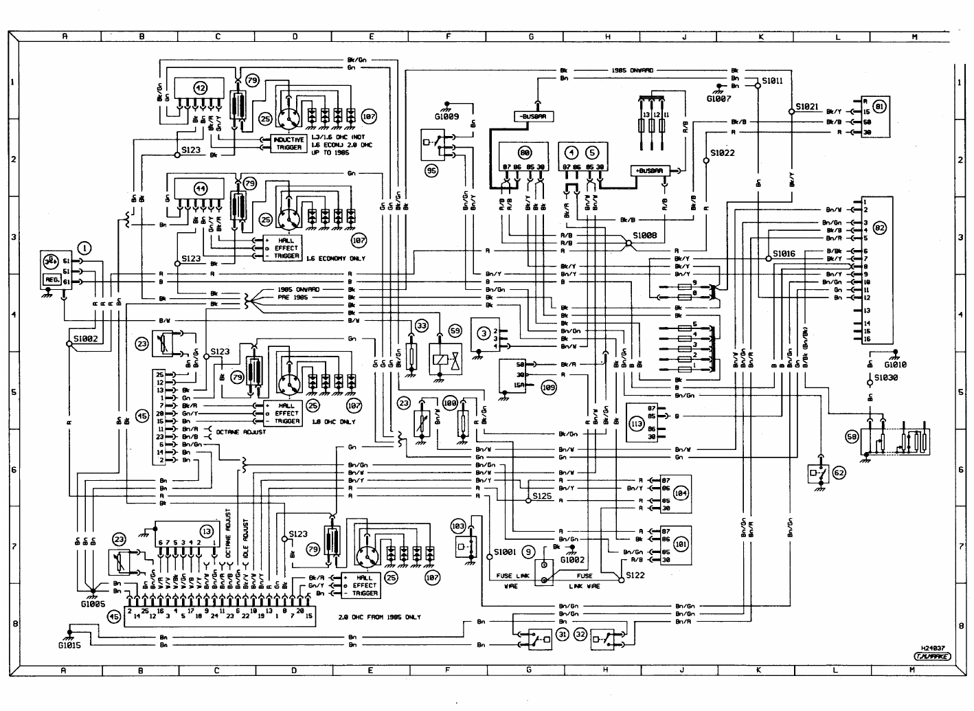 Ford Sierra Wiring Diagram Just Schematic For 1983 Nighthawk 650 Workshop Manual Pdf Alpenlite