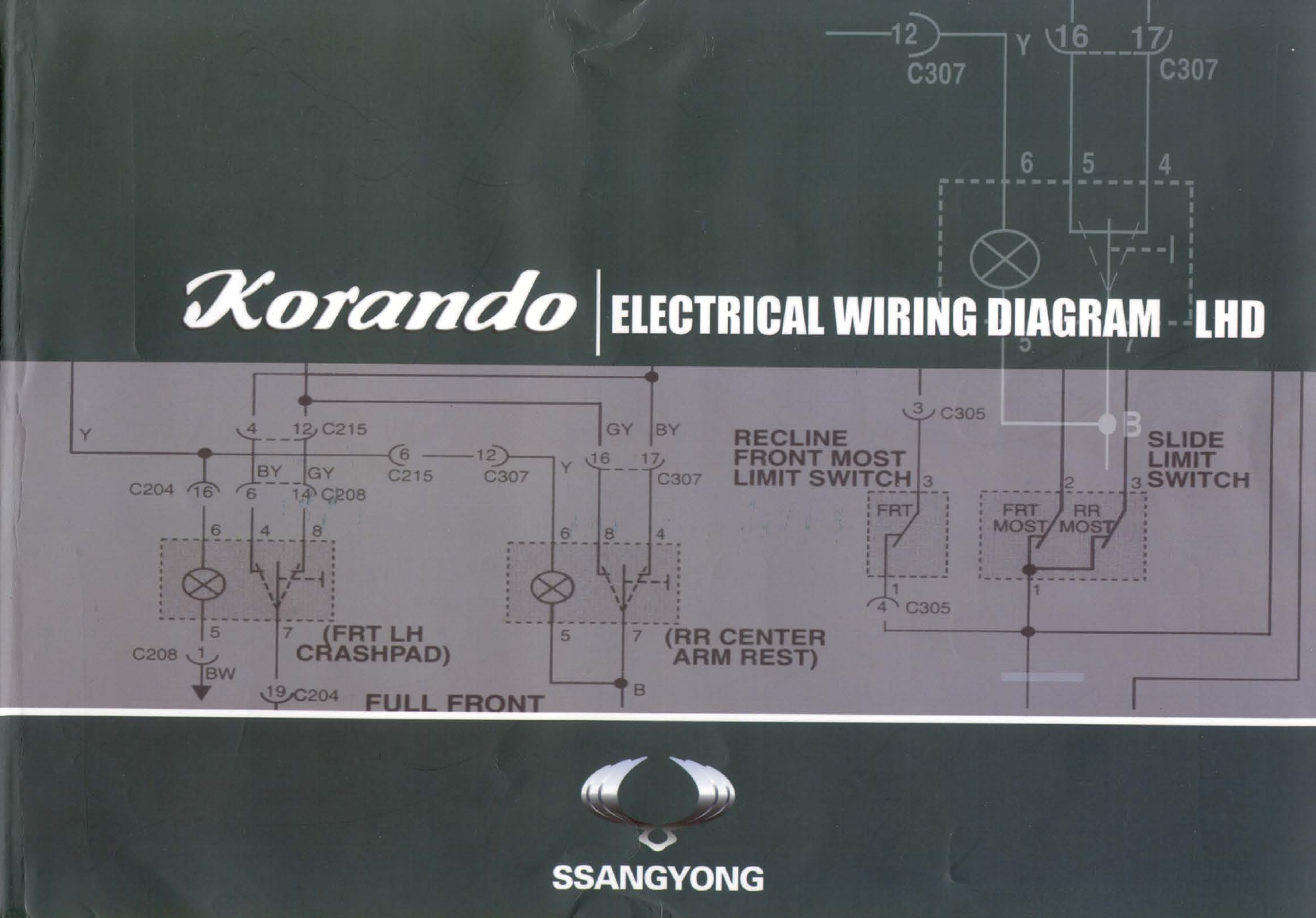Daewoo Korando Misc Doents Wiring Diagrams PDF on
