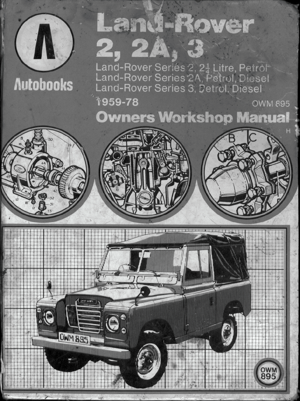 See our other Land Rover Series III Manuals: