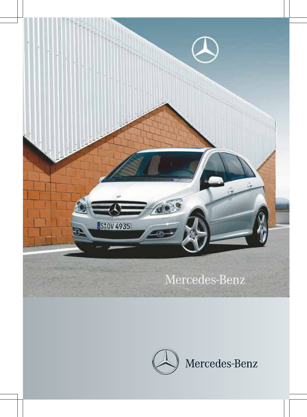 page 1 mercedes b 200 2010 owners manual romanian pdf. Black Bedroom Furniture Sets. Home Design Ideas