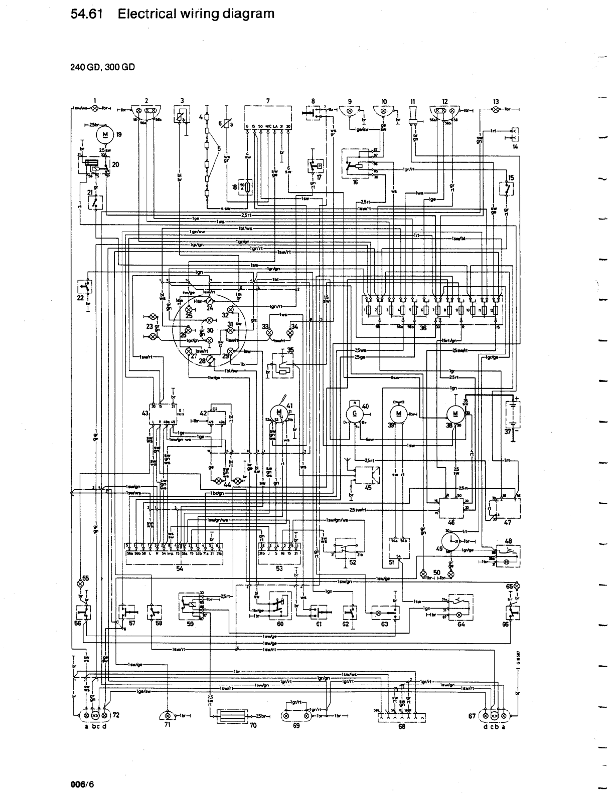 mercedes g 300 misc documents wiring diagrams pdf