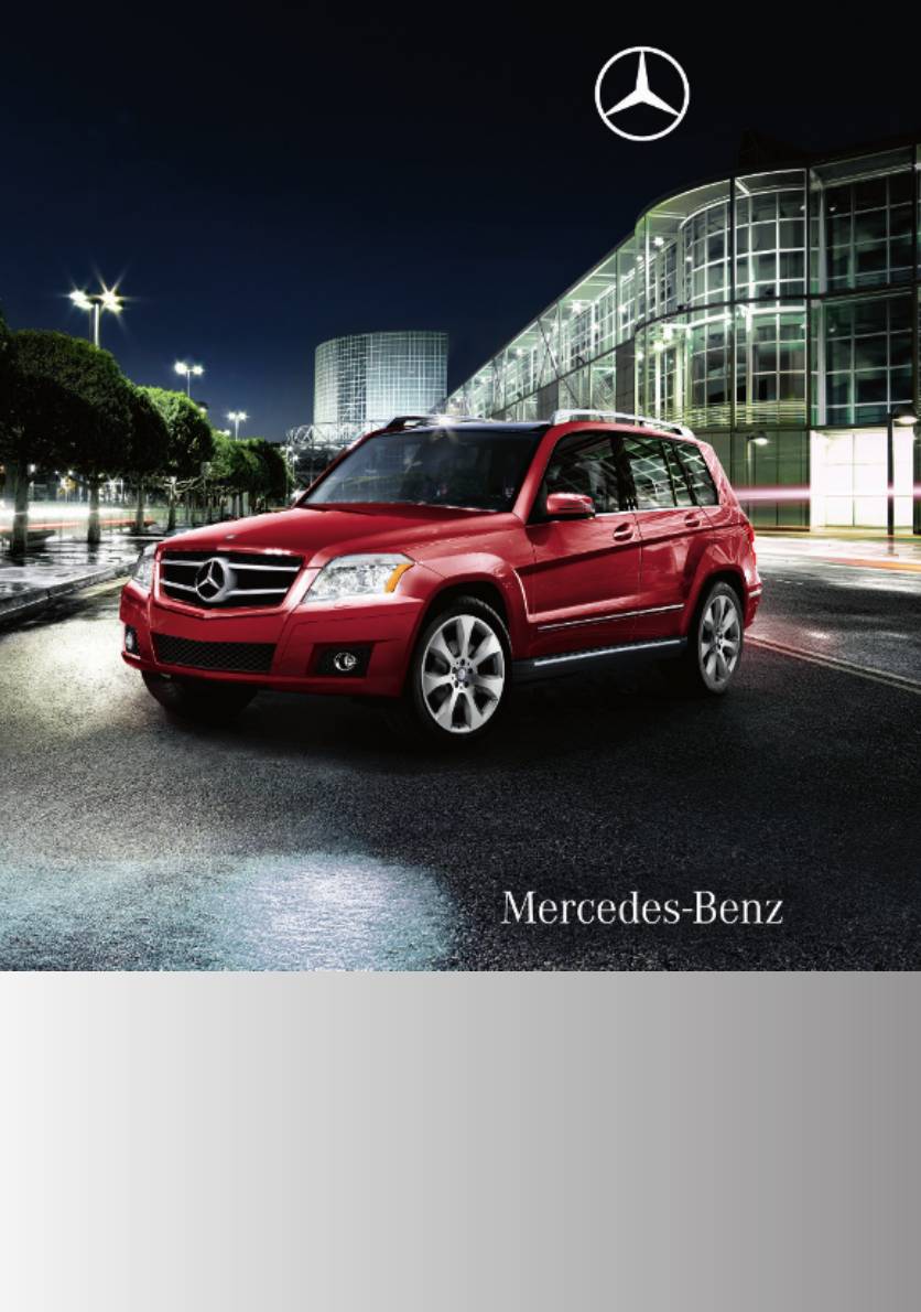 mercedes glk 350 owners manual