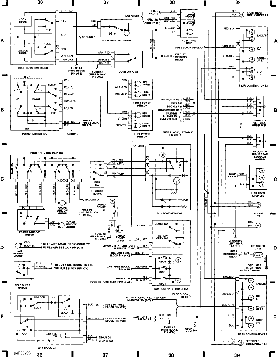 93 Mazda Mx3 Wiring Diagram Pictures Rx8 Mx 3 1993 Misc Documents Pdf