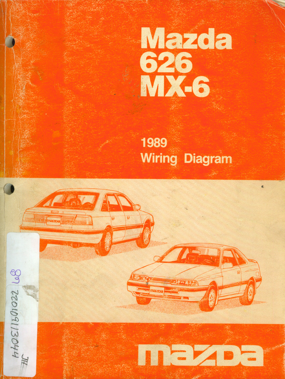 See our other Mazda 626 Manuals: