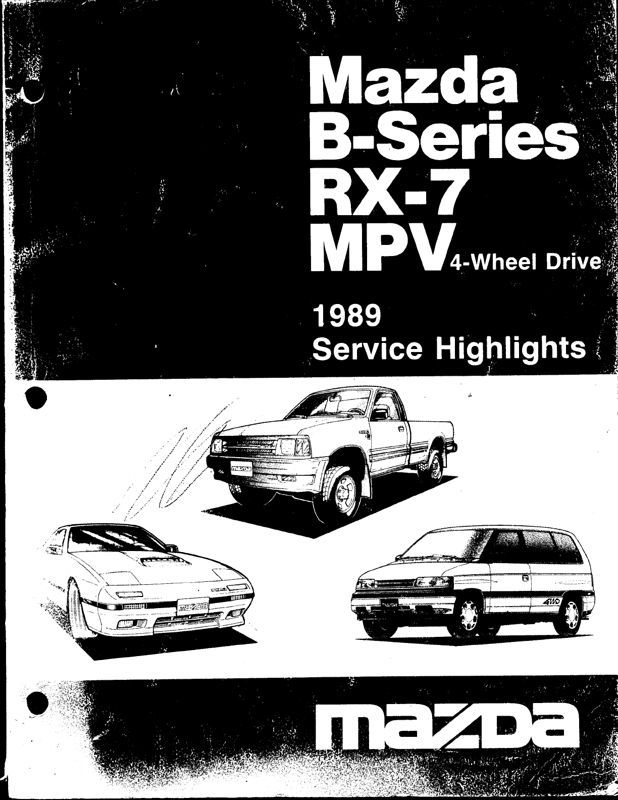 See our other Mazda RX-7 Manuals: