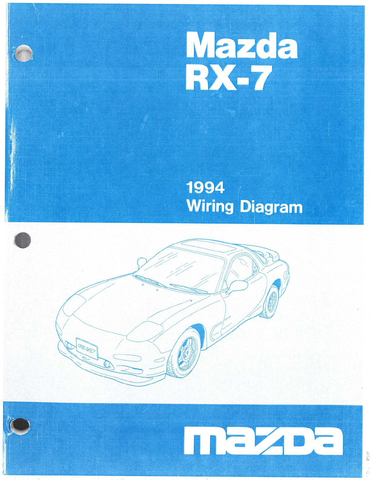 mazda rx7 1994 misc documents wiring diagram pdf rh manuals co