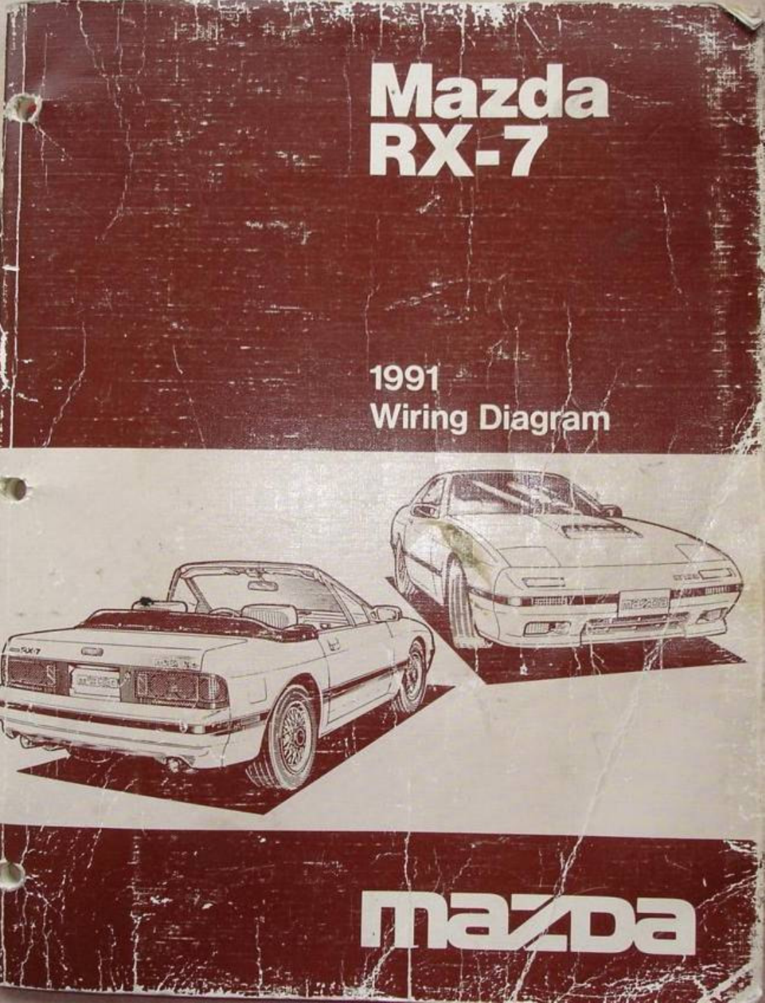See our other Mazda RX-7 Manuals: Mazda RX7 1993 Misc Documents Wiring  Diagram