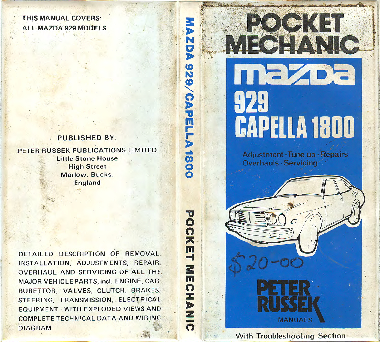 See our other Mazda 929 Manuals: Mazda 929 1991 Wiring Diagrams