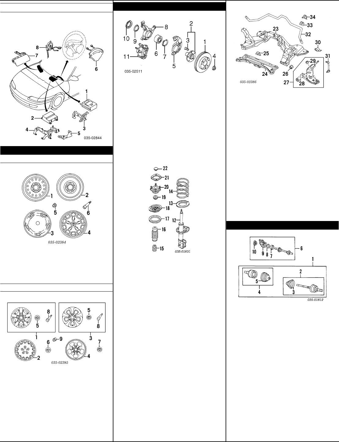 1993 Mazda Mx6 Parts Fuse Box Diagram Misc Documents Catalogue Pdf 1106x1440