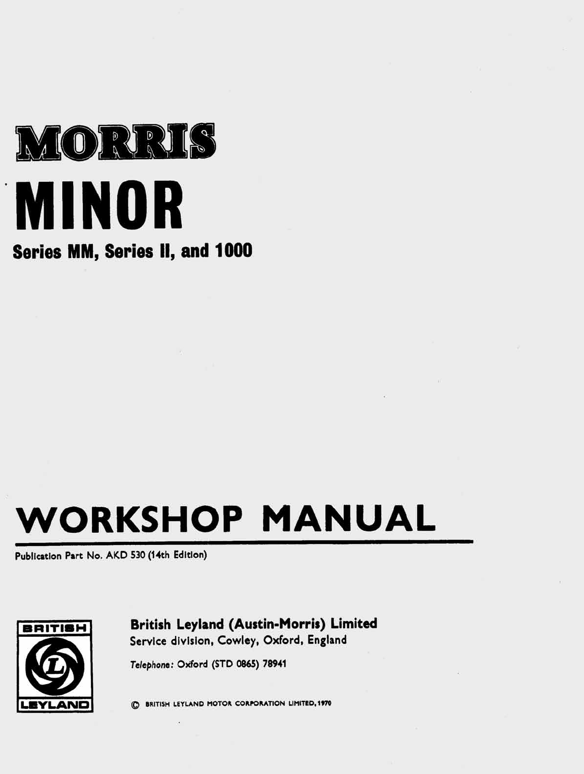 mini 1000 1970 workshop manual pdf rh manuals co 1978 leyland mini workshop manual 1978 leyland mini workshop manual