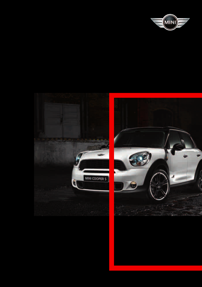 mini cooper countryman 2011 owners manual pdf rh manuals co 2011 mini cooper countryman service manual 2011 mini cooper s countryman owners manual