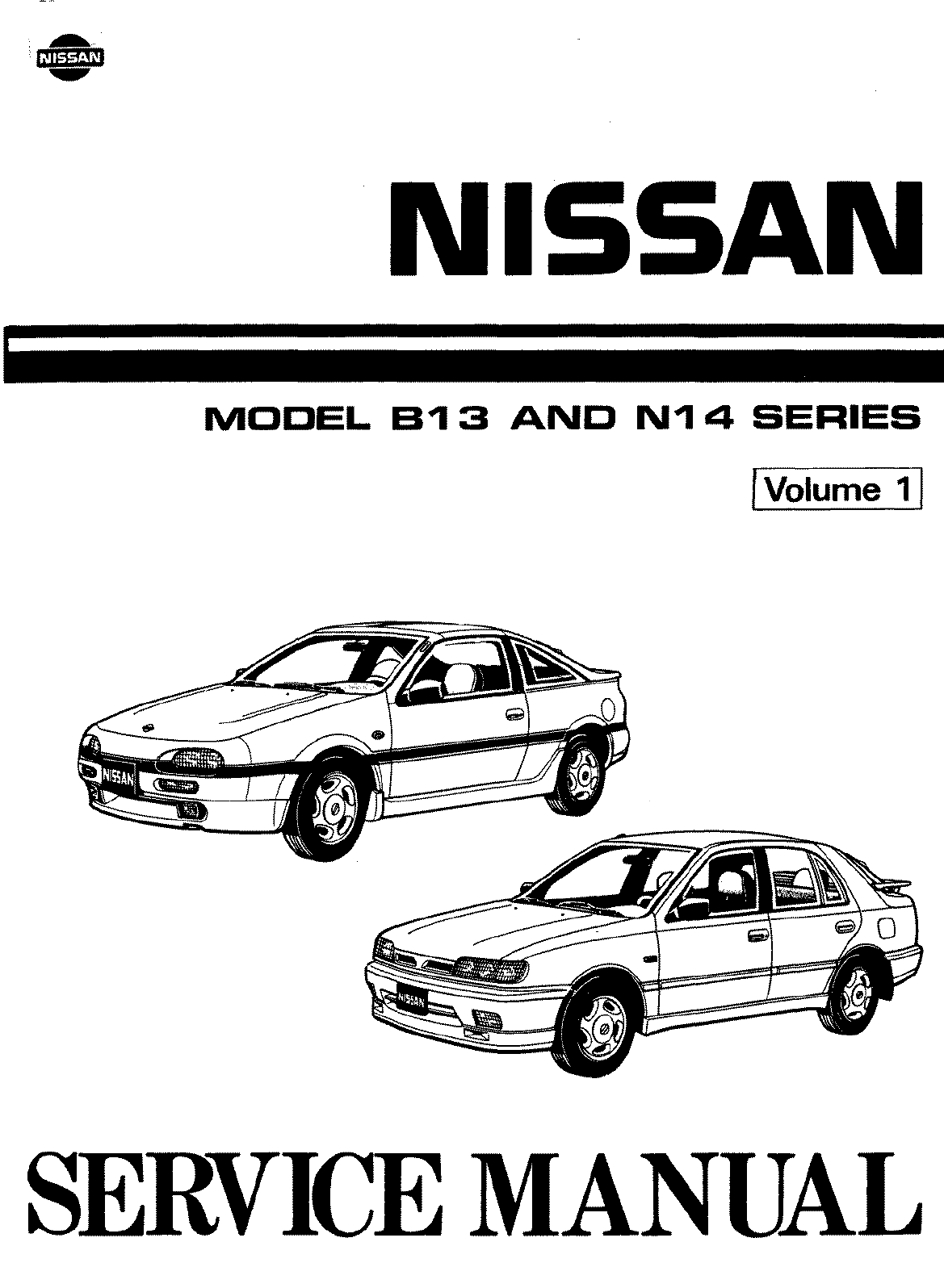 See our other Nissan 100 NX Manuals: Nissan 100 NX 1990 Workshop Manual