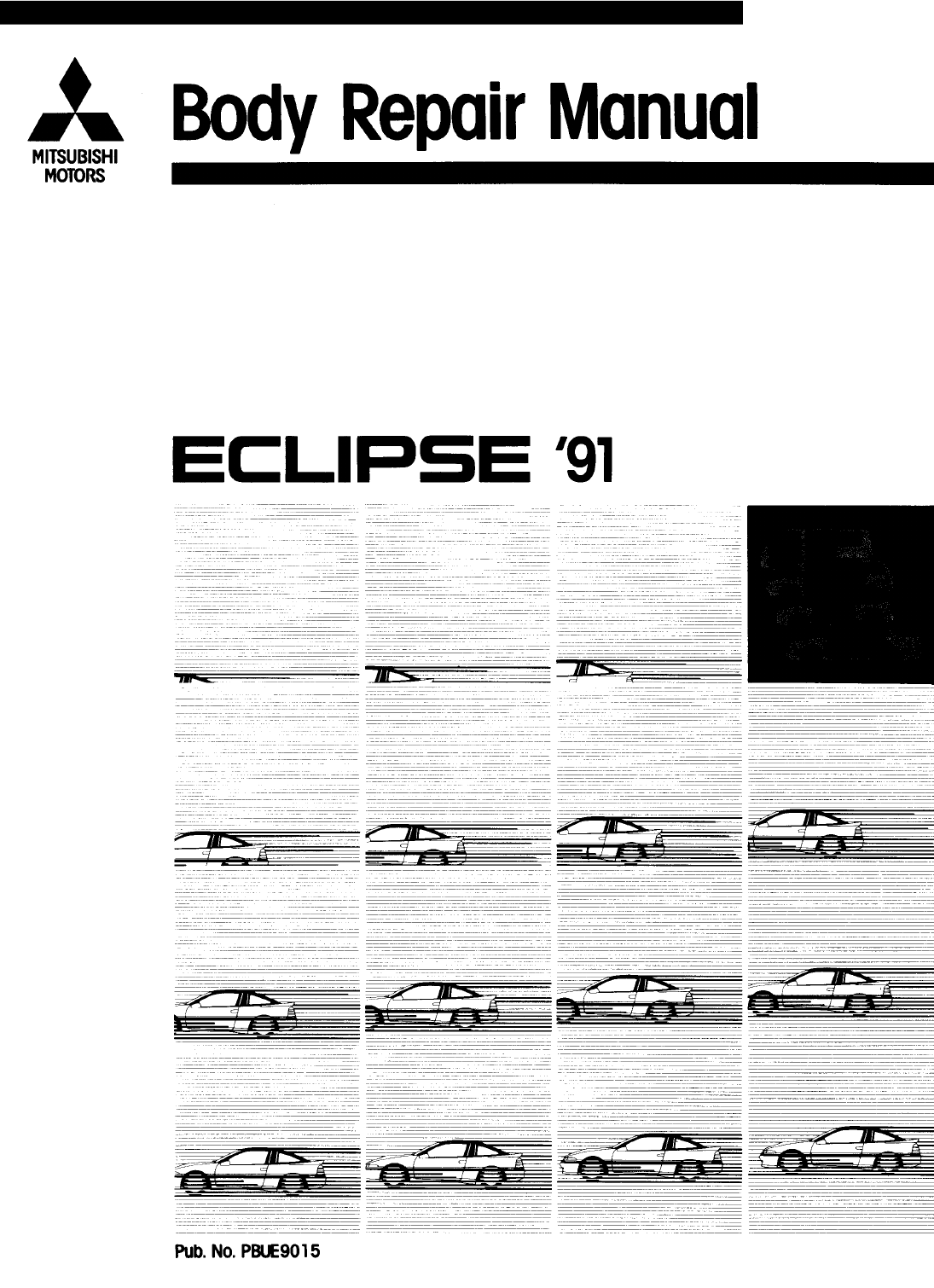 See our other Mitsubishi Eclipse Manuals: