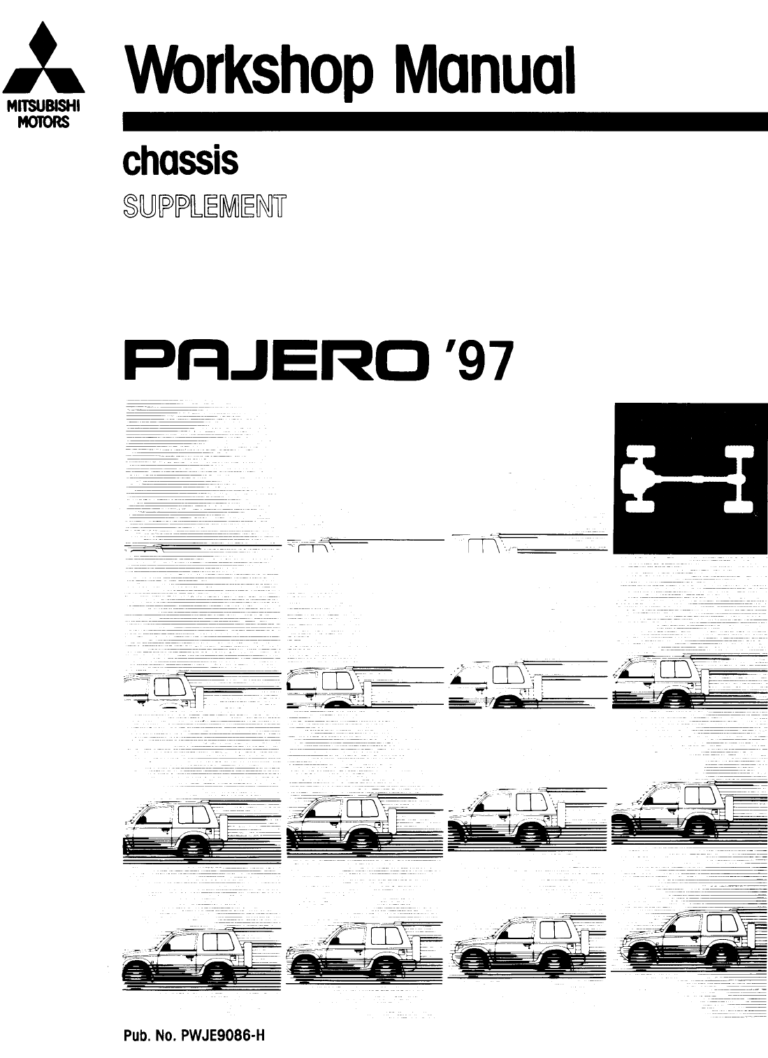 See our other Mitsubishi Pajero Manuals: