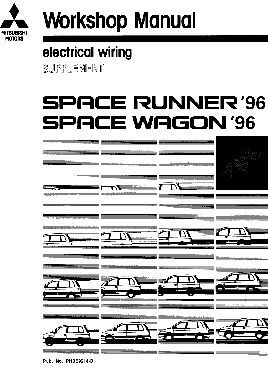 mitsubishi space wagon 1996 misc document electrical. Black Bedroom Furniture Sets. Home Design Ideas