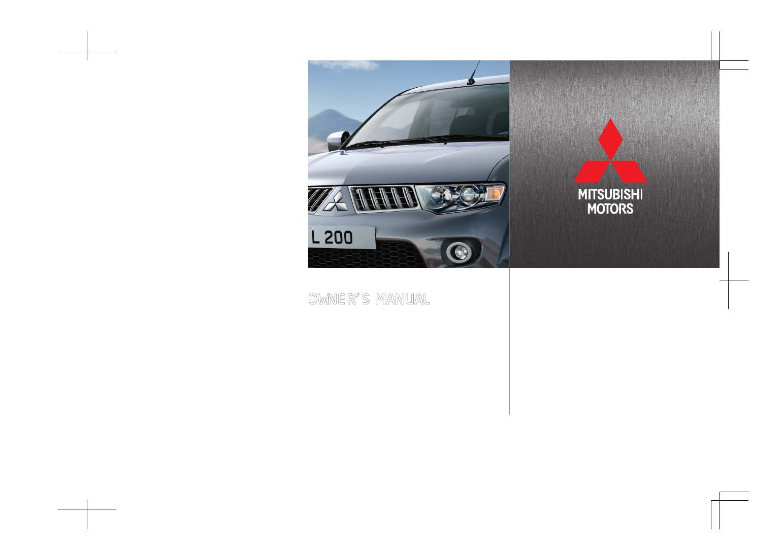 mitsubishi l200 owners manual pdf rh manuals co mitsubishi l200 owners manual 2016 mitsubishi l200 user manual