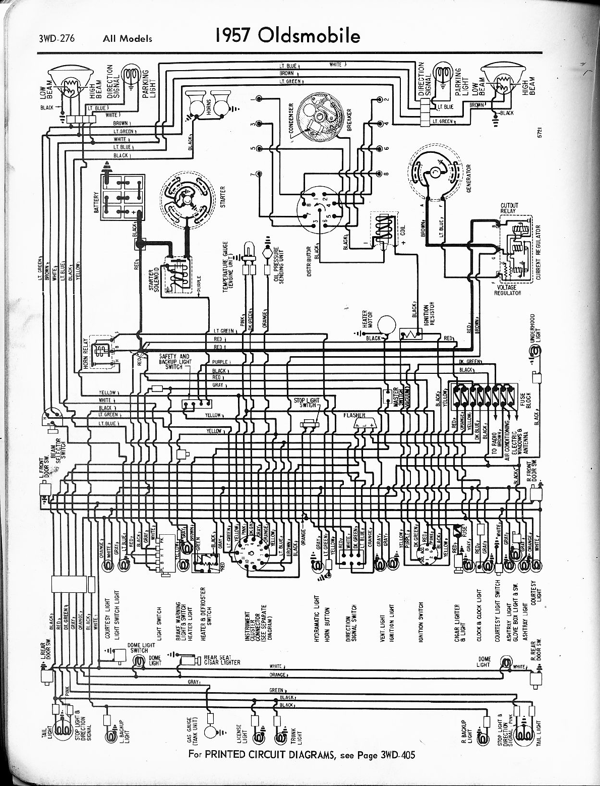 oldsmobile sillhouette 1957 1960 misc documents wiring diagrams pdf rh manuals co 3-Way Switch Wiring Diagram Basic Electrical Schematic Diagrams