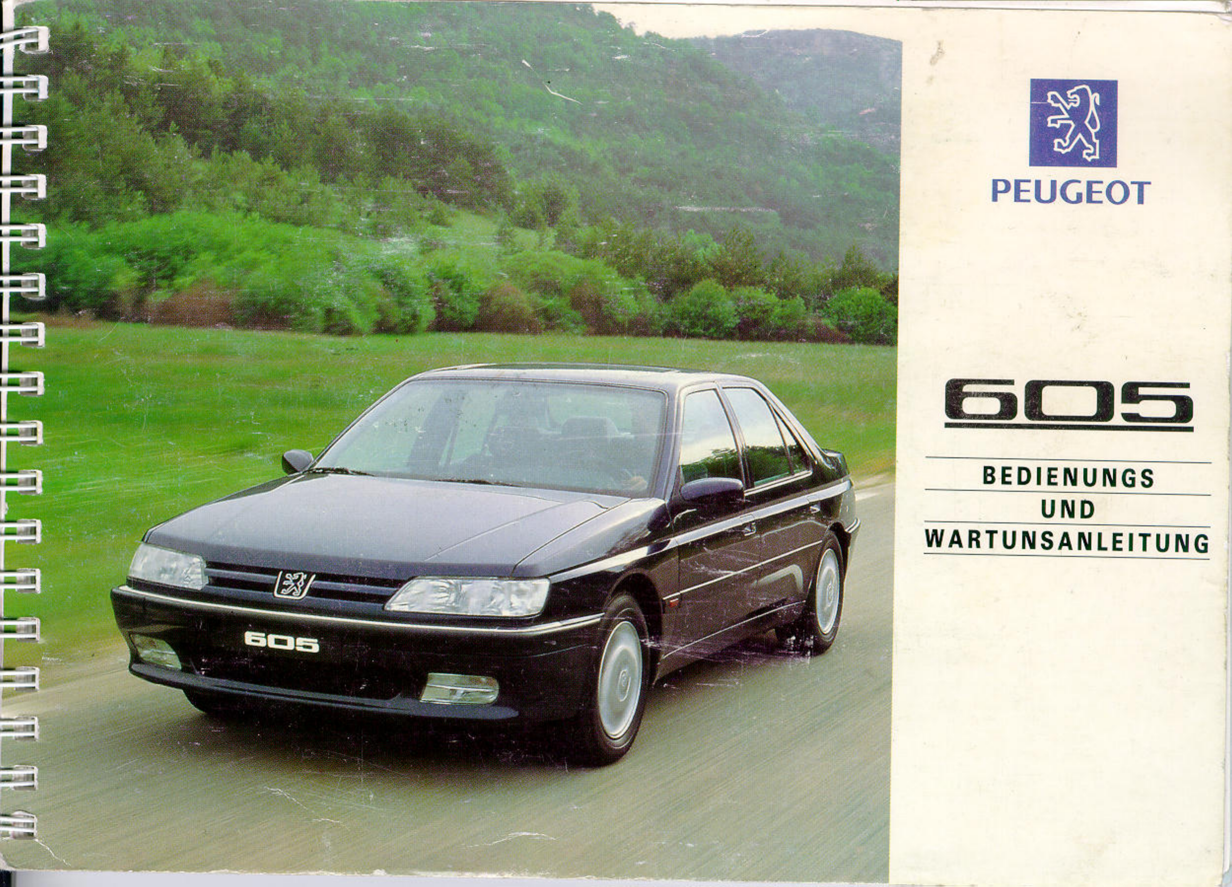 peugeot 605 owners manual german pdf rh manuals co Peugeot 606 Peugeot 606