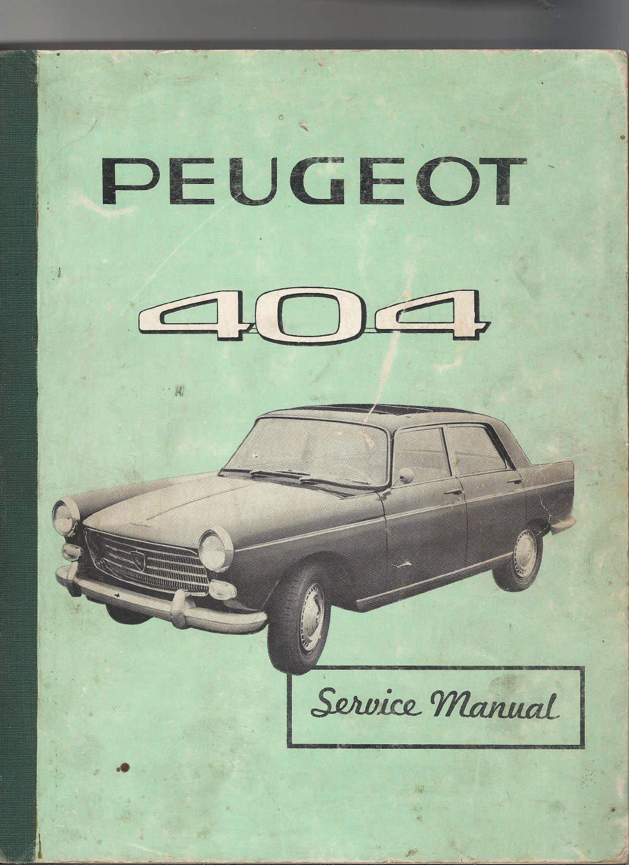 See our other Peugeot 404 Manuals: Peugeot 404 1962 Workshop Manual