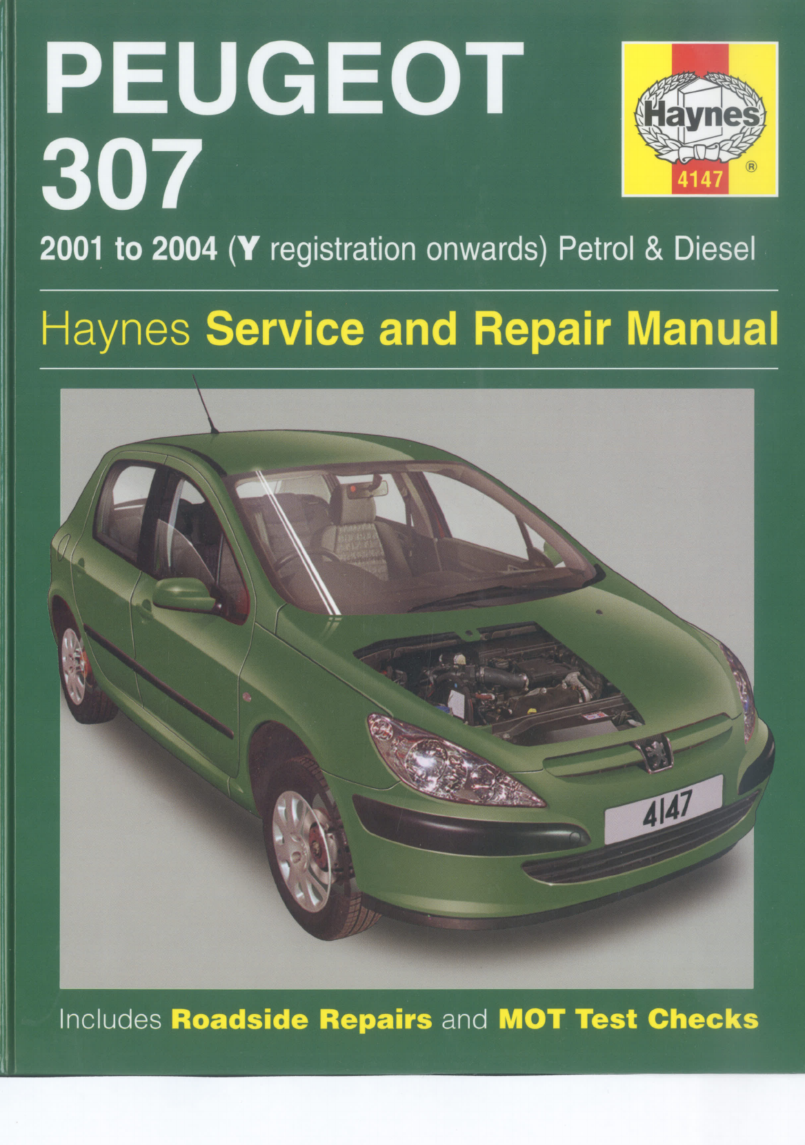 peugeot 307 2001 2004 workshop manual haynes pdf