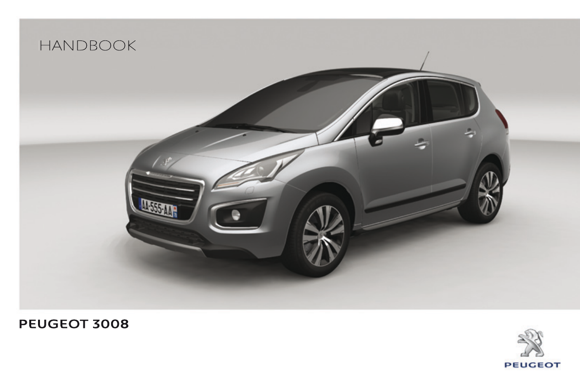 peugeot 3008 2013 owners manual pdf rh manuals co  Peugeot 308 2010