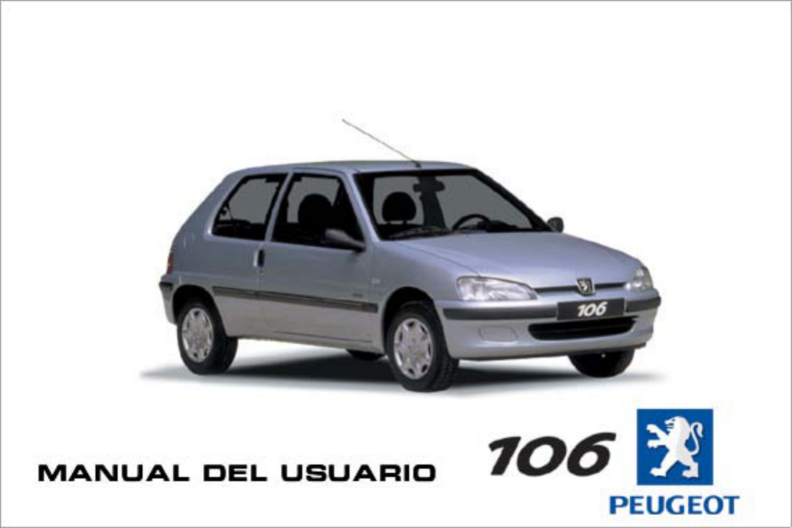 peugeot 106 owners manual spanish pdf rh manuals co 2002 peugeot 106 owners manual peugeot 106 owners manual pdf