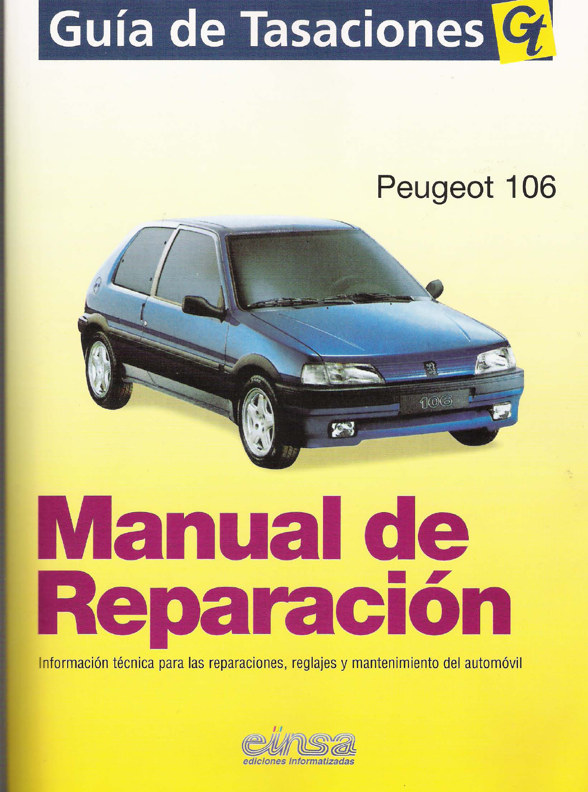 peugeot 106 workshop manual spanish pdf rh manuals co 2001 peugeot 106 owner's manual peugeot 106 service manual pdf