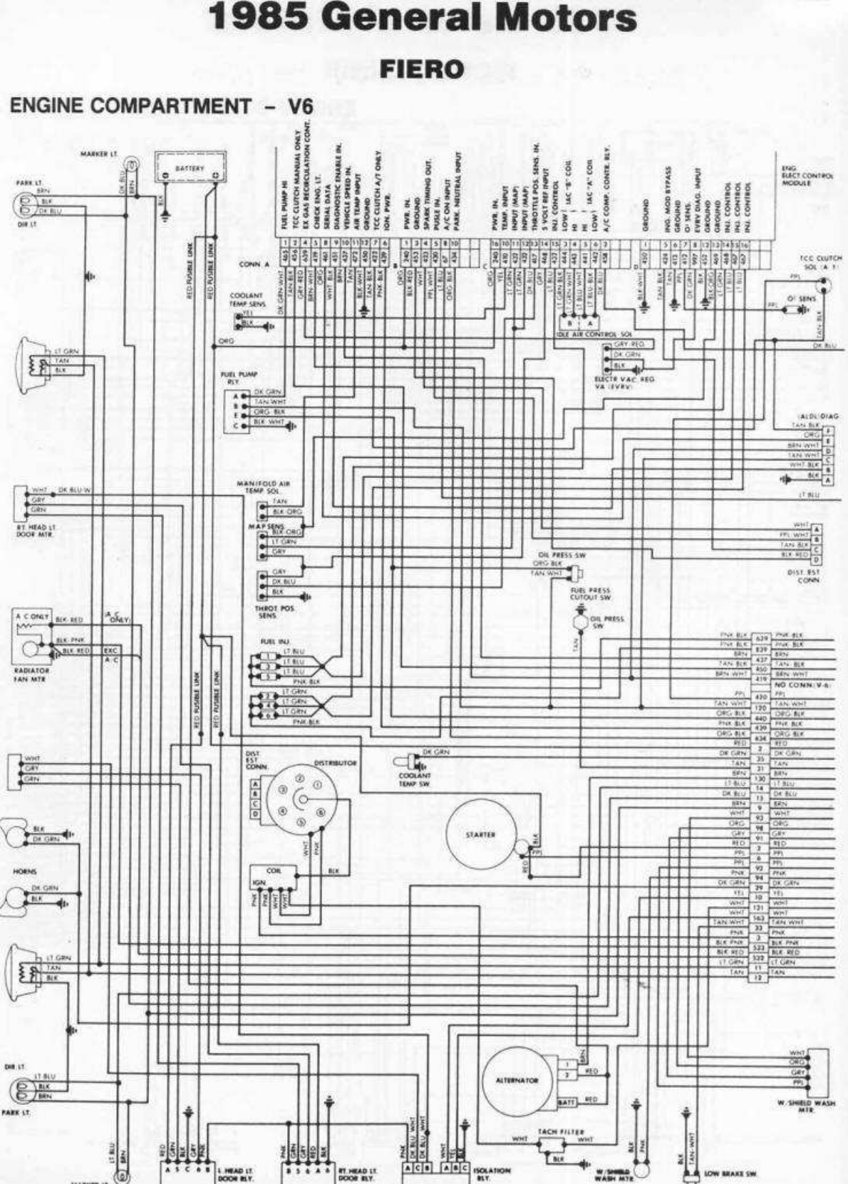 1985 Pontiac Wiring Diagram - Do you want to download wiring ... on