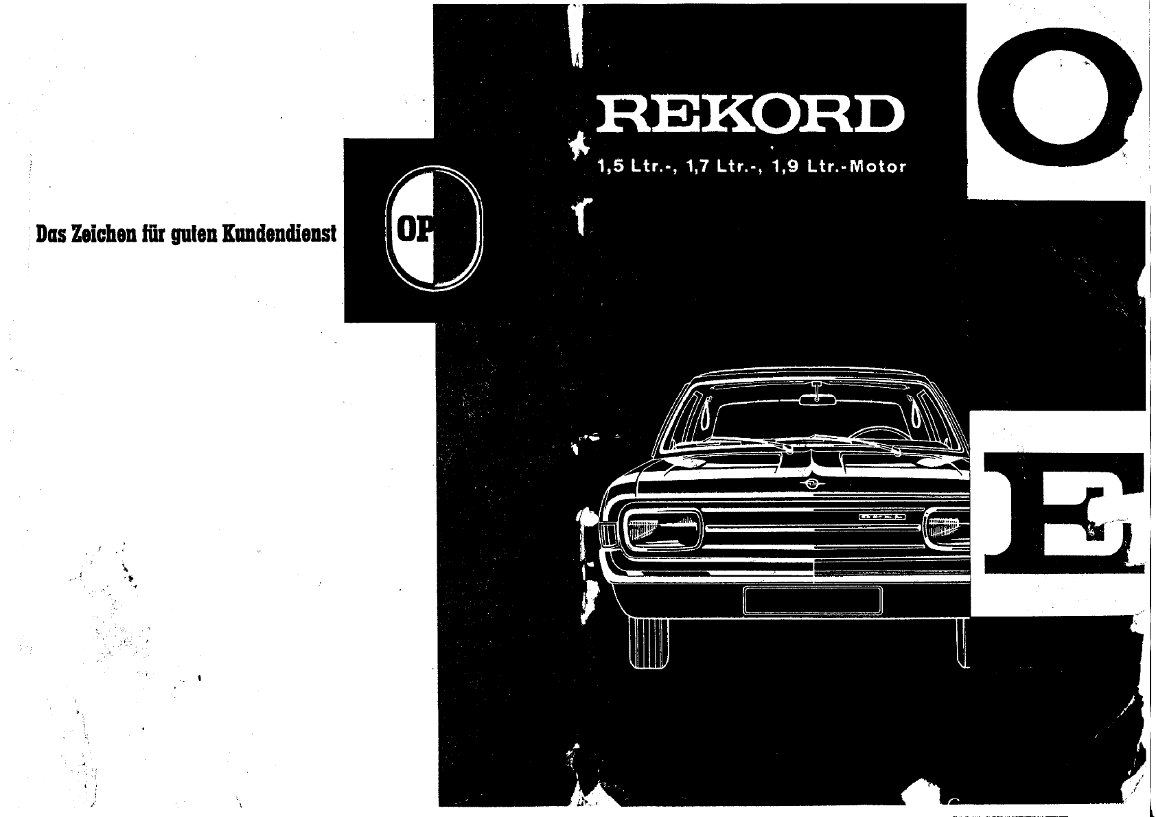 opel rekord owners manual german pdf rh manuals co
