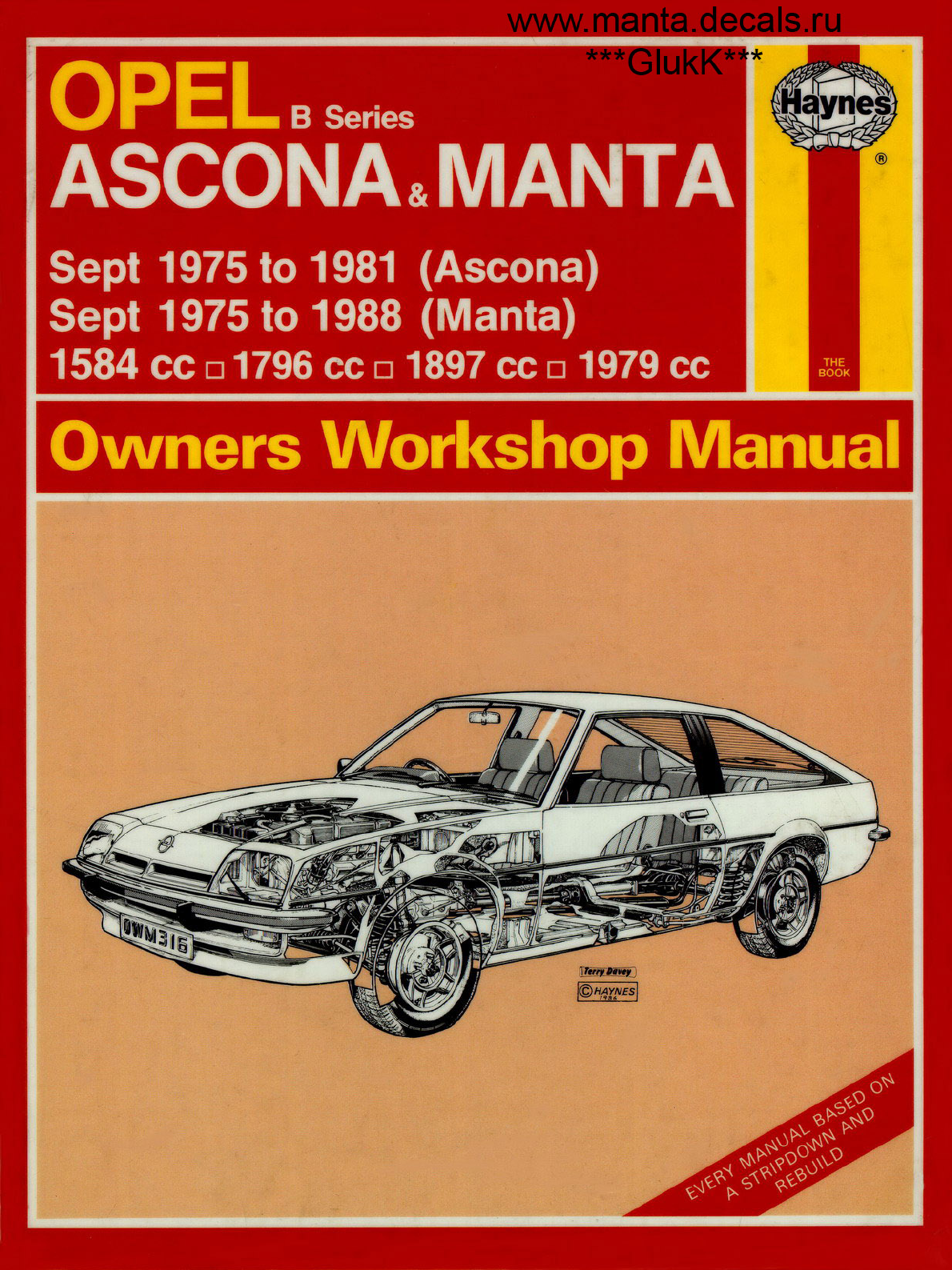 opel ascona 1975 1981 workshop manual haynes pdf rh manuals co Truck Manual 02 Mazda Protege5 Repair Manuals