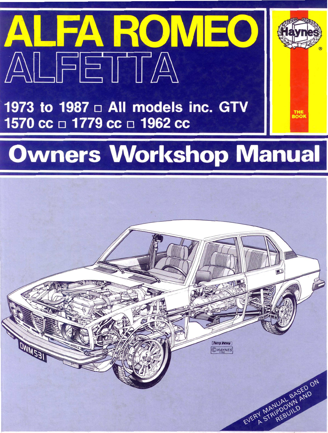 See our other Alfa Romeo Alfetta Manuals: Alfa Romeo Alfetta 1973 1987  Workshop ...