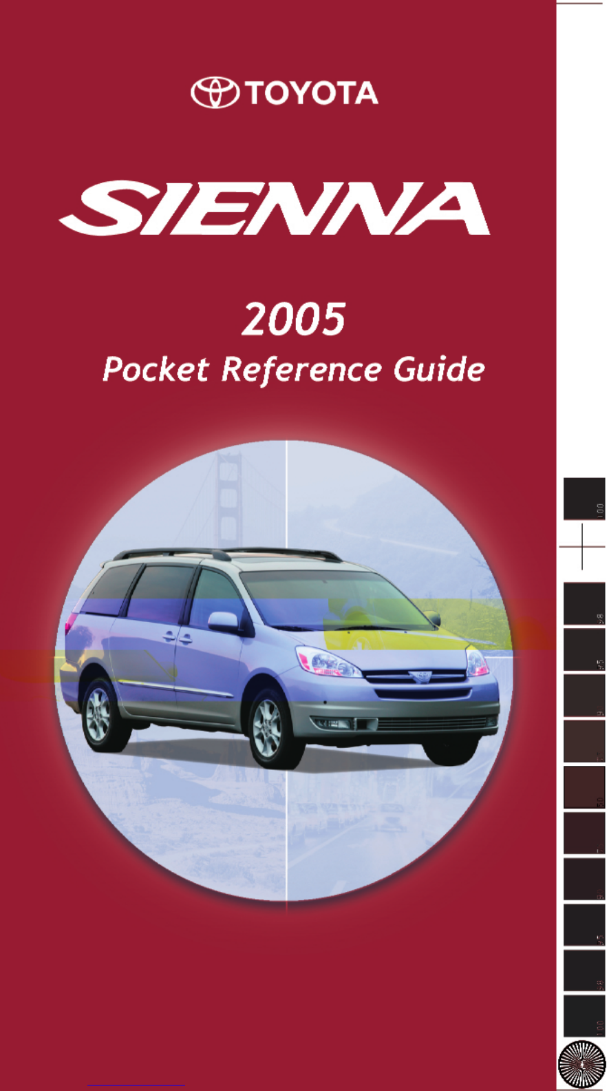 Toyota Sienna 2010-2018 Owners Manual: Capacity and distribution