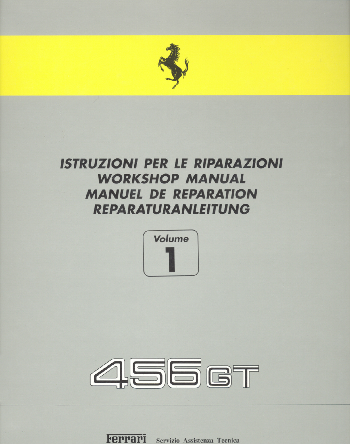 See our other Ferrari 456 Manuals: